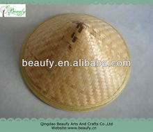 Chinese Conical Bamboo Straw Hat on Sale