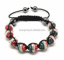 cheap shamballa beads for jewellery making bracelets,shamballa beads for the world cup bracelets