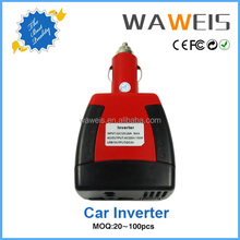 2015 fashionable dc 12v to ac 110/220v car inverter with usb charger for mobile phone