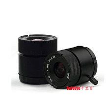 SafeEye HD3.0megapixel ir corrected lens CS mount maga pixel lens 6mm Fixed Iris cctv lens for cctv camera