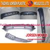 Automotive plastic parts mold manufacturing auto bumper mould factory bumper mould order processing