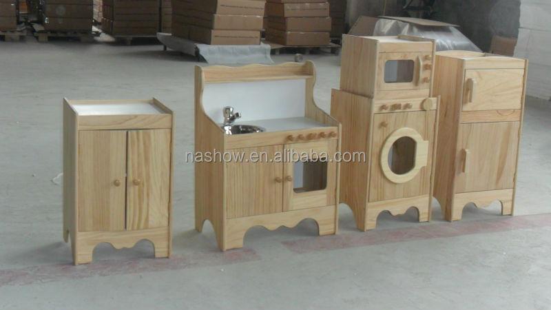 Cubby Plan jeu de rôle de la maison coin jeu en bois enfants et enfants cuisi