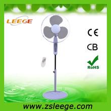 Ventilador ventiladores de 16 pulgadas soporte del piso oscilante oficina