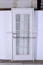 entry steel door slab (precut out sunburst model)