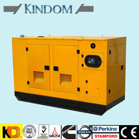 Power Plant Fuel Saving 80kW/100 kVA Silent Diesel Generator set with cummins engine