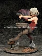 japonés de plástico del juguete figura