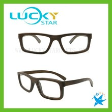 Online shopping clear lens square spectacle frames china fashion wooden eyeglasses frames