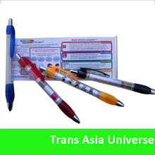 2014 Best Selling Retractable ballpoint message pen