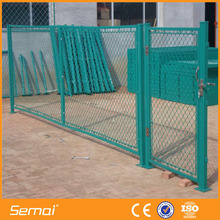 hot sale low galvanized metal gates prices ISO certification