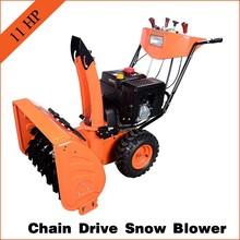 loncin engine walk behind snow sweeper 11hp power