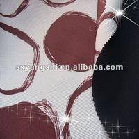 TPU membrane and fleece bonded printing softshell jackets woven fabric