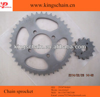 420-104L motorcycle chain & CD70 sprocket kit 41/14T for Parkistan