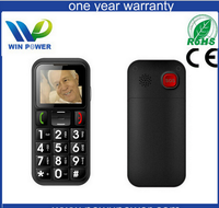 Brand new senior-friendly cellphone for emergencies china wholesale feature phones ce rohs senior phone spanish manual