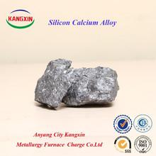 Sica aleación / fabricante Ferro calcio silicio para la fabricación de acero / ca31si60, ca28si60, ca24si60, ca20si55, Ca16Si55 o como los clientes de