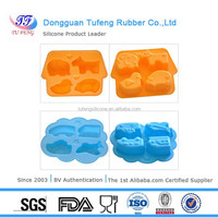 2015 New Design 100% Food Grade Lego Ice Mold Silicone Ice Cube Tray Wholesale Free Shipping