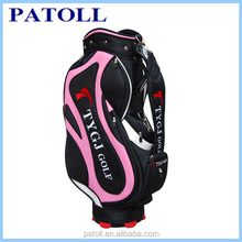 New product china supplier fashionable custom brand wholesale golf bags