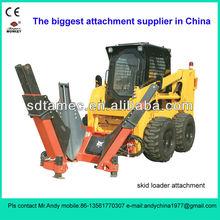 skid steer loader tree spade (skid loader attachment,bobcat attachment)