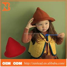 2015 Newest Fashion Cute Sharp Wool Cap For Children