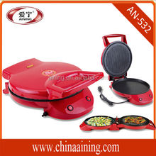 Electric bbq grill with hot pot,electric grill rotary grill