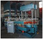 Borracha 160t push- pull automaic máquina