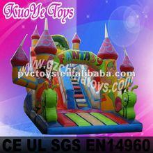 Fantasy inflatable slide