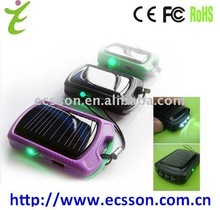 Hotsale solar cell phone charger circuit with flashlight