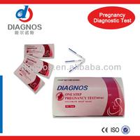 One Step Pregnancy rapid test kits/Mamma perfect rapid test/HCG Pregnancy Test Kit Medical Diagnostic Test Kit Strip (CE)