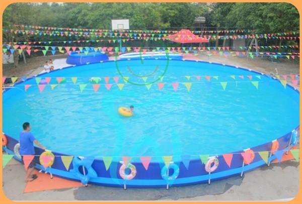 Piscina de pl stico retangular piscinas e acess rios id do for Piscina plastico rectangular