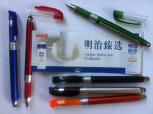 2015 factory multi-fuction ballpoint pen with banner and stylus ,good for promotional OEM welcome CH6642