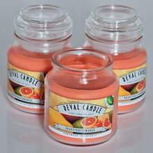 Scented Soy wax candles: Grapefruit & Mango