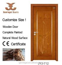 CE/ISO9001 new design WOOD interior prefinished internal doors