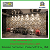 hot sale wholesale manufacturer decorative moisture proof decorative bar wall board 3d wallpaper