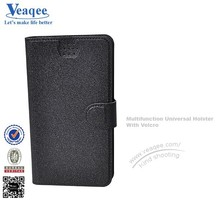 Veaqee fancy cheap offcial leather flip case for iphong 5c