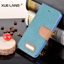 China wholesale card holder leather flip mobile phone cover case for iphone 5c