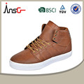 el hombre de color marrón de cuero zapatos de trabajo