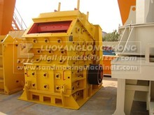 High capacity impact crusher widely use for limestone, middle hard stone with blow bar