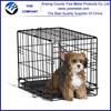 "Black Pet Dog Cage/48"" Collapsible Metal Pet Cage"