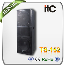 "ITC TS-152 800W 15"" 2.1 4 ohm Disco Speakers"