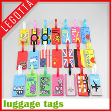 China factory low cost wholesale popular novelty children luggage tag