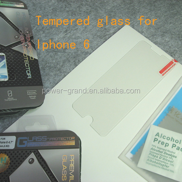 Tempered glass screen protector for Iphone 6 4.7-0.33mm 2.5D-(5)