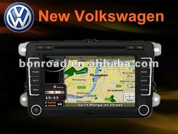 Aftermarket double din car gps navigator volkswagen new polo