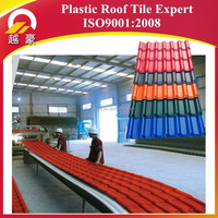 recycled plastic roofing plastic flat sheet roof