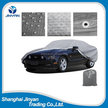 Factory OEM high quality folding garage silver PEVA S M L XL XXL car cover for sale