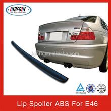 2 door M3 type ABS lip spoiler for BMW E46 Coupe
