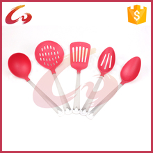 Factory supply pp handle stainless steel cooking tool set