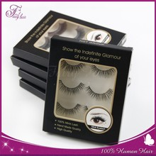 2015 new design private label mink eyelash extension/free samples false eyelash