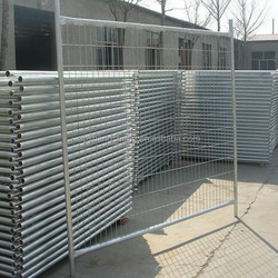 Cheap Australian hot galvanized sheet metal fence panel