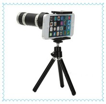 Universal 8X Telephoto telescope zoom Lens With Detachable Clip For smart phone