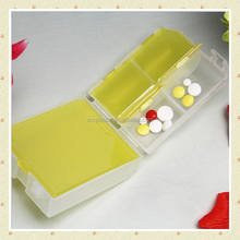 Plastic Customized Rectangle week pill box, custom own brand eco-friendly candy box, custom plastic pill storage box