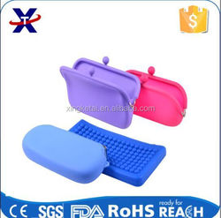 china manufacturer high quality Hot promotional popular novelty fashion silicone purse
